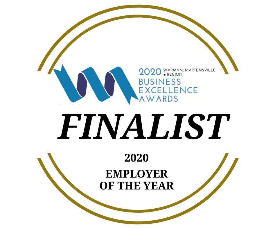 Employer of the Year Finalist Badge Aug 2020